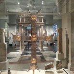 Bysantinskt kors på Metropolitan Art i NY. Eget foto.