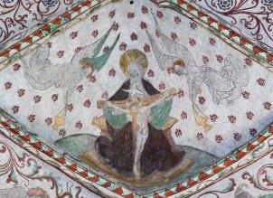 Nådastolen. Albertus Pictor.