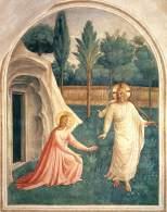 "Fra Angelico. ""Noli Me tangere"""