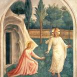 "Fra Angelico. ""Noli Me tangere"""