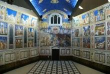 Scrovegnis Kapell i Padua med Giottos fresker.