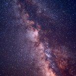 Vintergatan.