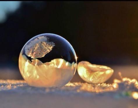 frusen bubbla